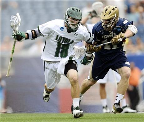 NCAA Notre Dame Loyola Lacrosse