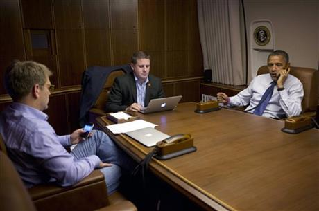 Barack Obama, Jay Carney, Dan Pfeiffer