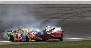 Kyle Busch, Joey Logano