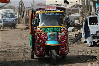 Pakistan Peace Rickshaws