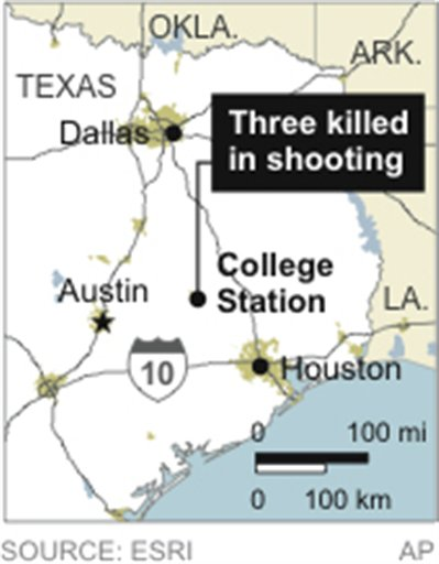 TX A&M SHOOTING