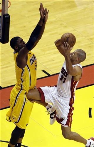 Shane Battier, Roy Hibbert