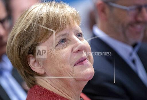 Merkel in the biotechnical centre