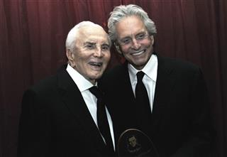 Michael Douglas, Kirk Douglas
