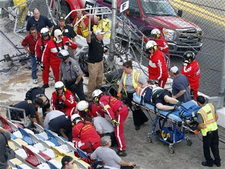 Daytona put to work again after accident at track | Auto Racing