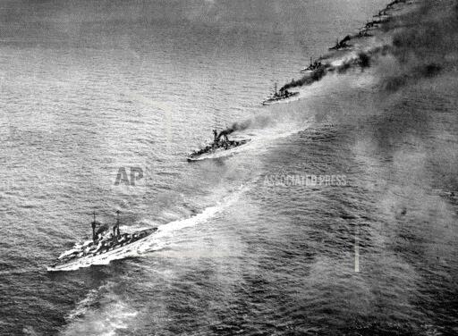 AP VM FILE XSE BATTLE OF JUTLAND,BRITISH GRAND FL