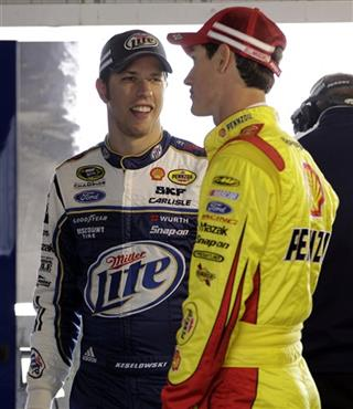 Brad Keselowski, Joey Logano
