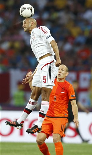 Soccer Euro 2012 The Netherlands Denmark
