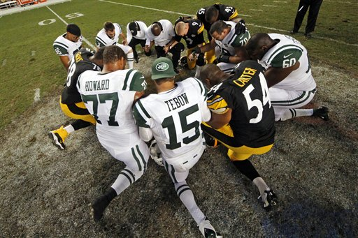 Jets Steelers Football