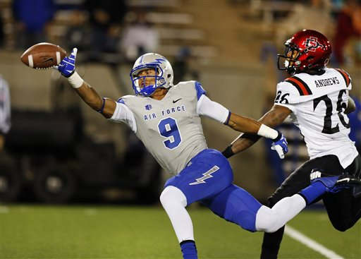 Robinette is soaring Air Force passing game to rare altitudes