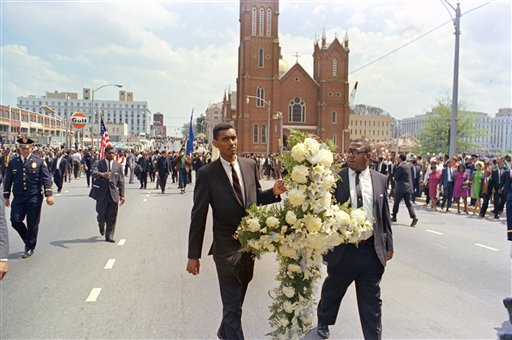 MLK Funeral 1968