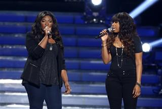 Candice Glover, Jennifer Hudson