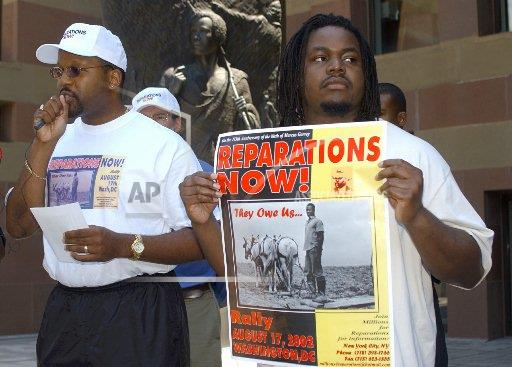 Associated Press Domestic News Connecticut United States JUNETEENTH REPARATIONS
