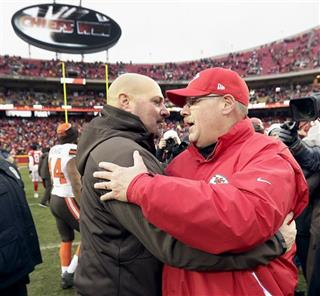 Andy Reid, Mike Pettine