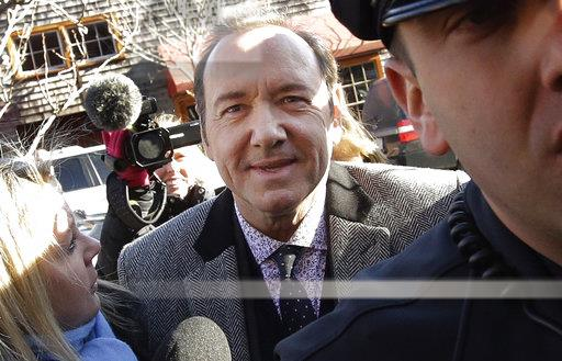 APTOPIX Sexual Misconduct Kevin Spacey