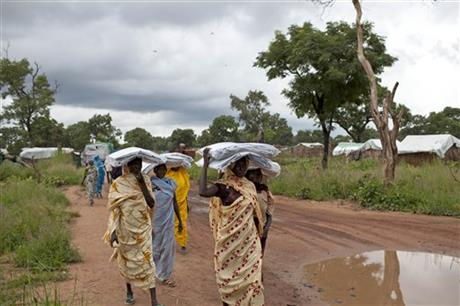 South Sudan Fleeing War