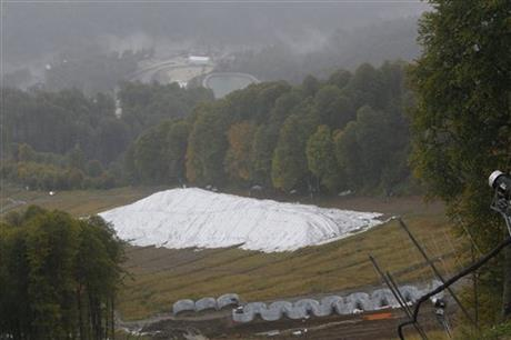 Sochi Olympics Stored Snow