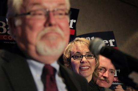 Ron Barber, Gabrielle Giffords, Mark Kelly
