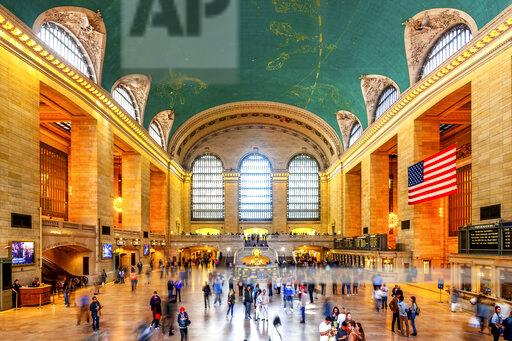 USA, New York City, Manhattan, Grand Central Station