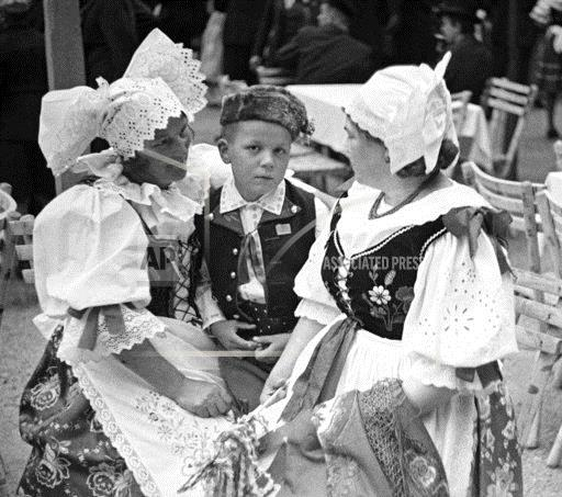 Czechs in Traditonal Costume