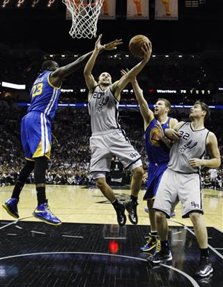 Manu Ginobili, Draymond Green, David Lee