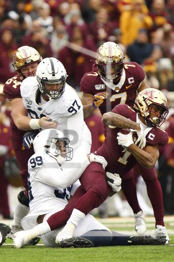 Penn St Minnesota Football