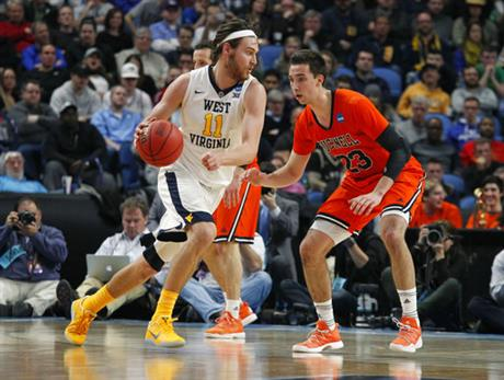 NCAA Bucknell West Virginia Basketball