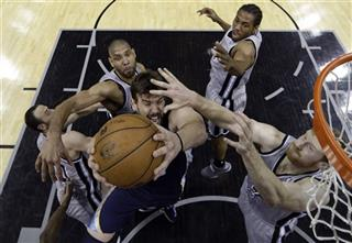 Marc Gasol, Ginobili, Tim Duncan, Kawhi Leonard, Matt Bonner