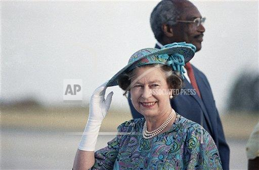 Watchf Associated Press International News   Barbados APHS225911 Queen Elizabeth II
