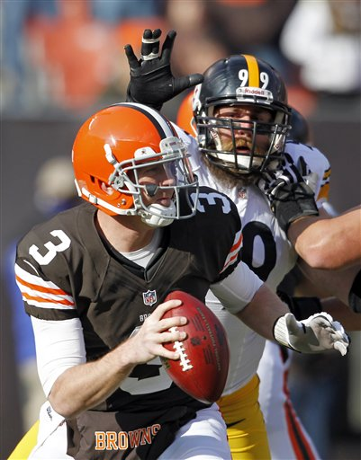 Brandon Weeden, Brett Keisel