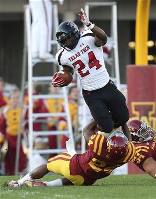Texas Tech Iowa St Football