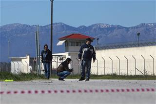 Greece Prison Battle