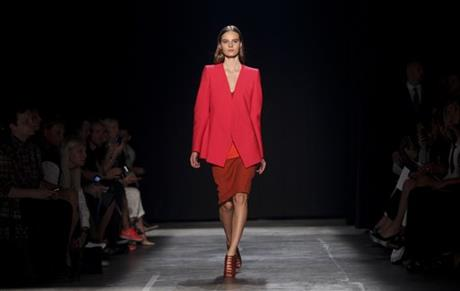 APTOPIX Fashion Narciso Rodriguez Spring 2013