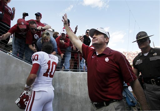 Bob Stoops, Blake Bell