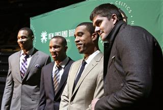 Jared Sullinger, Avery Bradley, Courtney Lee, Darko Milicic