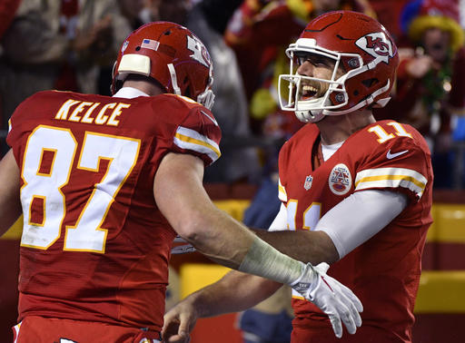 Alex Smith, Travis Kelce