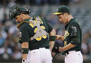 Jarrod Parker, Derek Norris