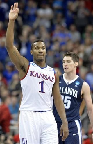 NCAA Villanova Kansas Basketball