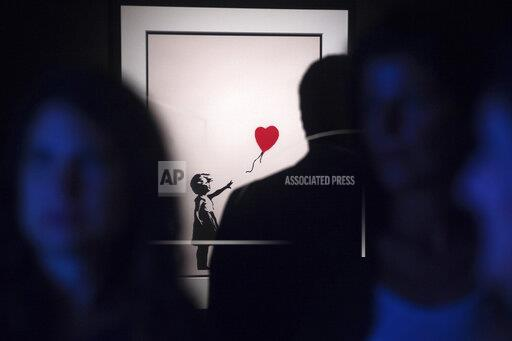 Bansky The art of Protest in Malaga, Spain - 23 May 2019