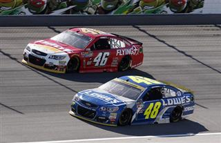 Jimmie Johnson, Michael Annett
