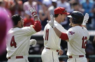 Mike Aviles, Mark Reynolds