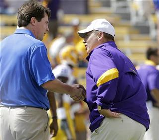 Les Miles, Will Muschamp