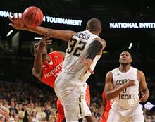 NIT Houston Georgia Tech Basketball