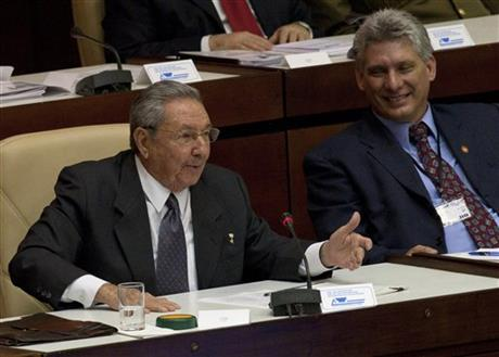 Raul Castro, Miguel Diaz Canel
