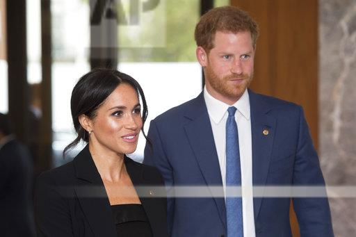 Harry and Meghan at the WellChild Awards - UK - 9/4/18