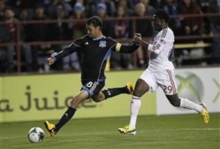 Chris Wondolowski, Kenny Mansally