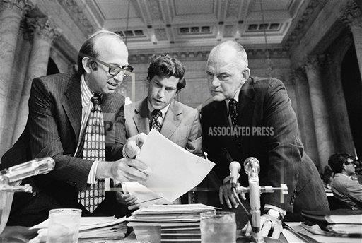 Watchf Associated Press Domestic News  Dist. of Col United States APHS57922 Watergate Conference