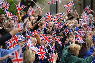 Britain OLY London 2012 Torch