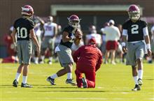 Alabama Jalen Spring Football