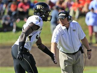 Jim Grobe, Tylor Harris